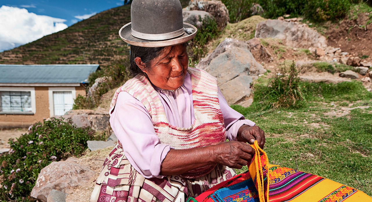bolivia textile craft