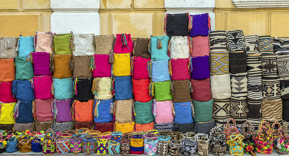 3 slide colombia cartagena colorful textiles pano