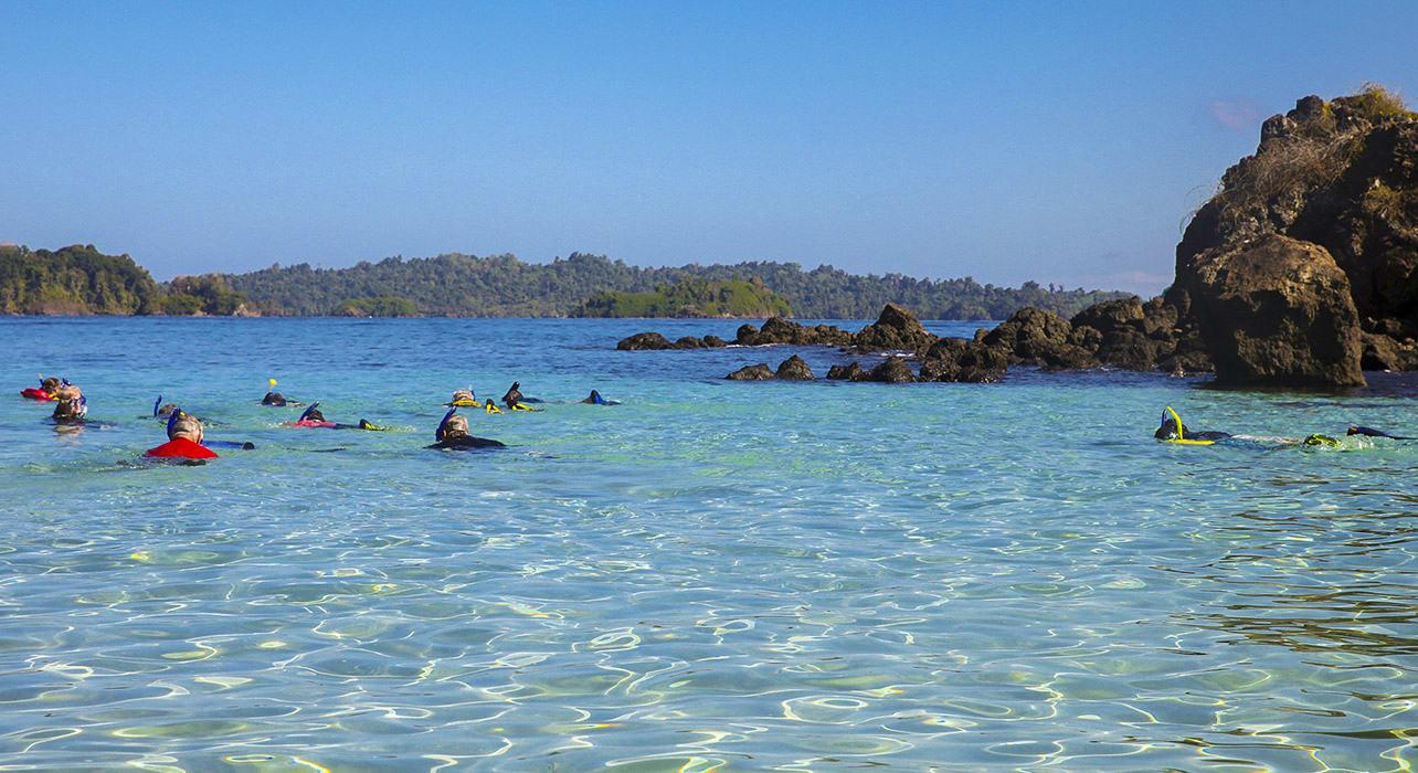 costa rica panama snorkeling