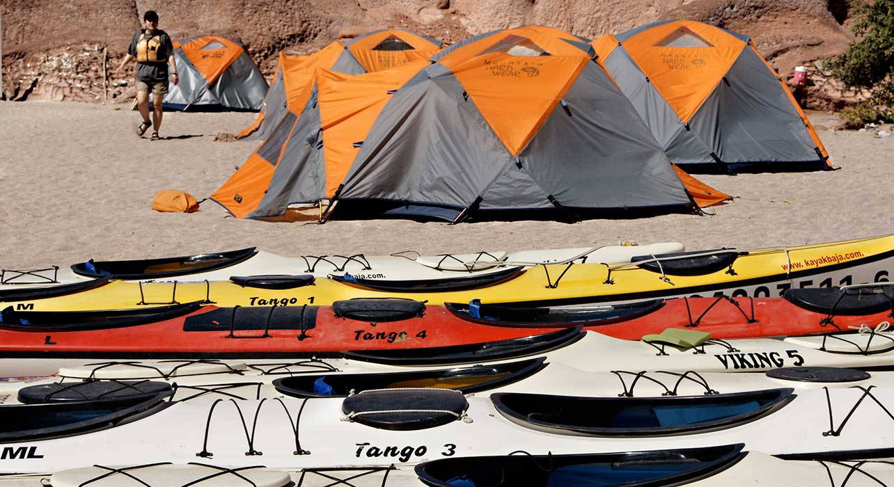 baja tents beach
