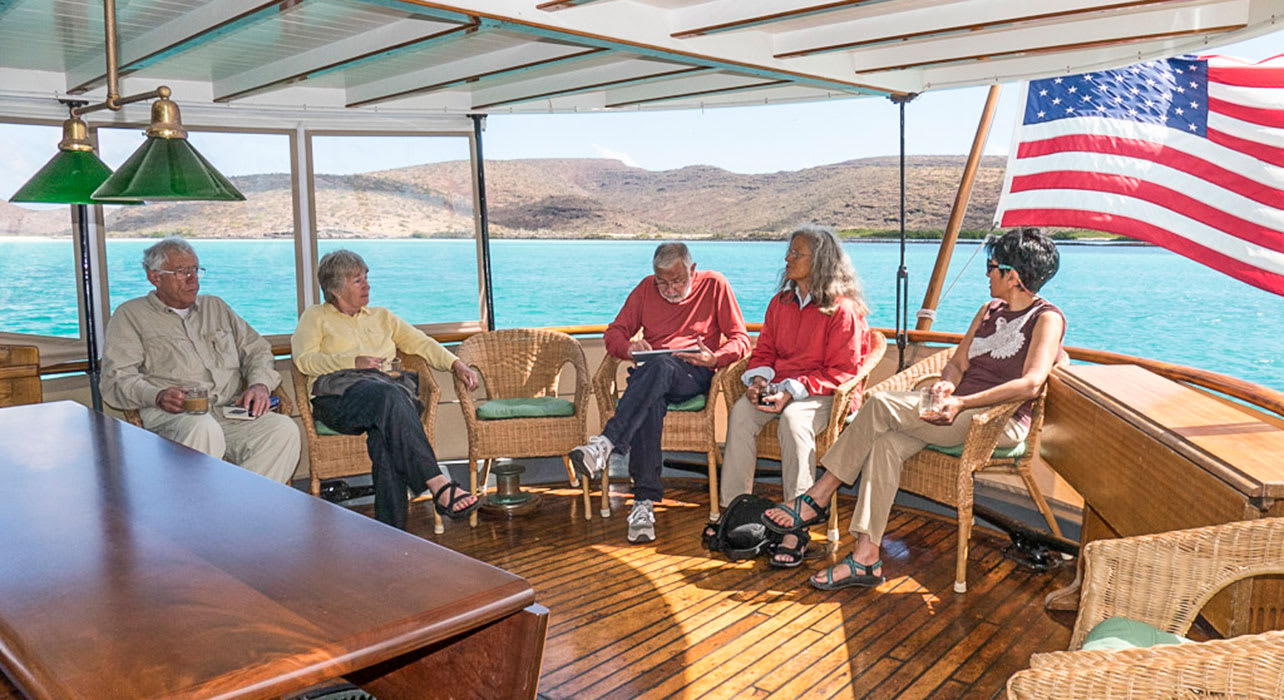 mexico baja boat deck