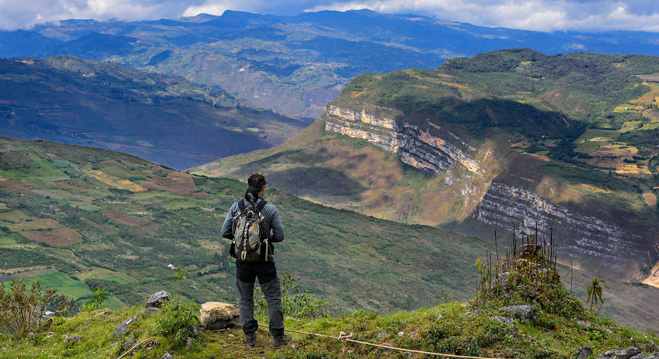 bill abbott chachapoyas hiker valley peru