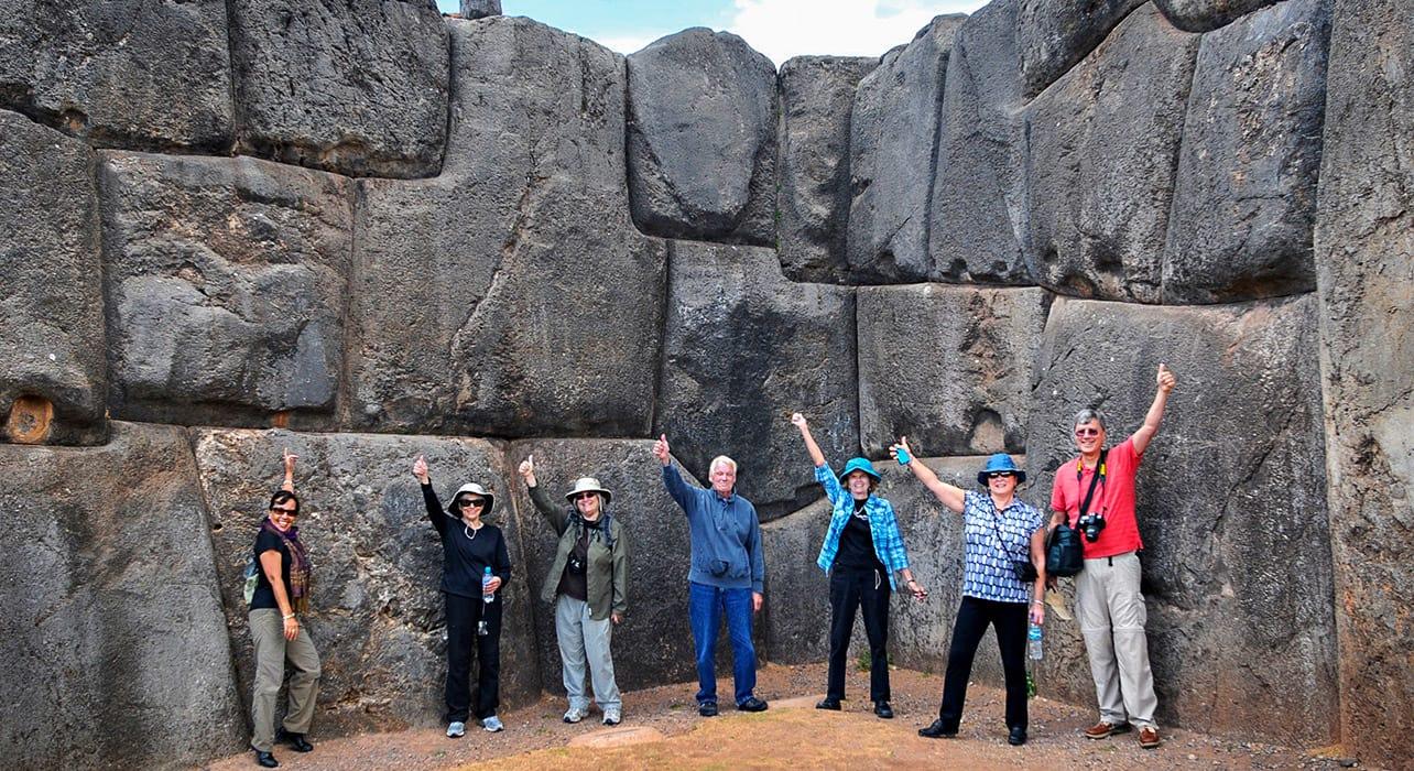 peru cusco saqsayhuaman ruins