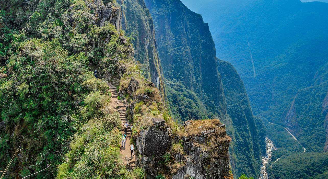inca trail hikers