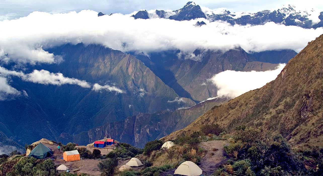 inca trail puyupatamarca camp