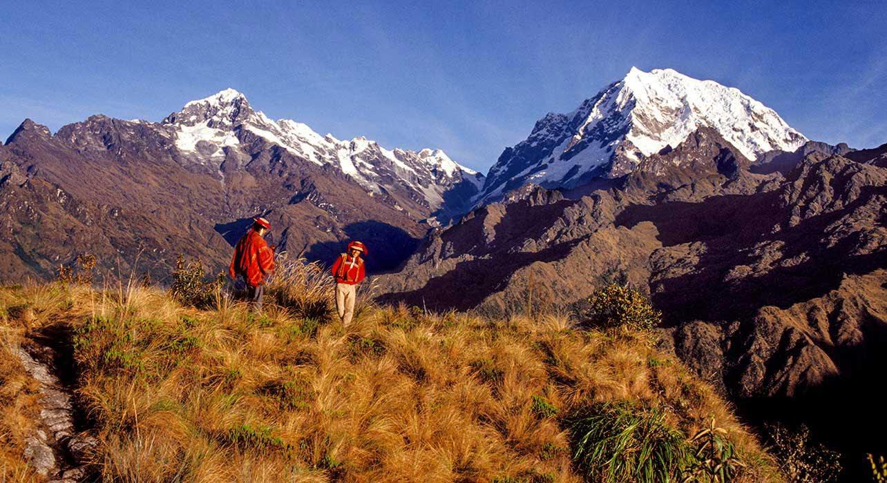 inca trail peru quecha