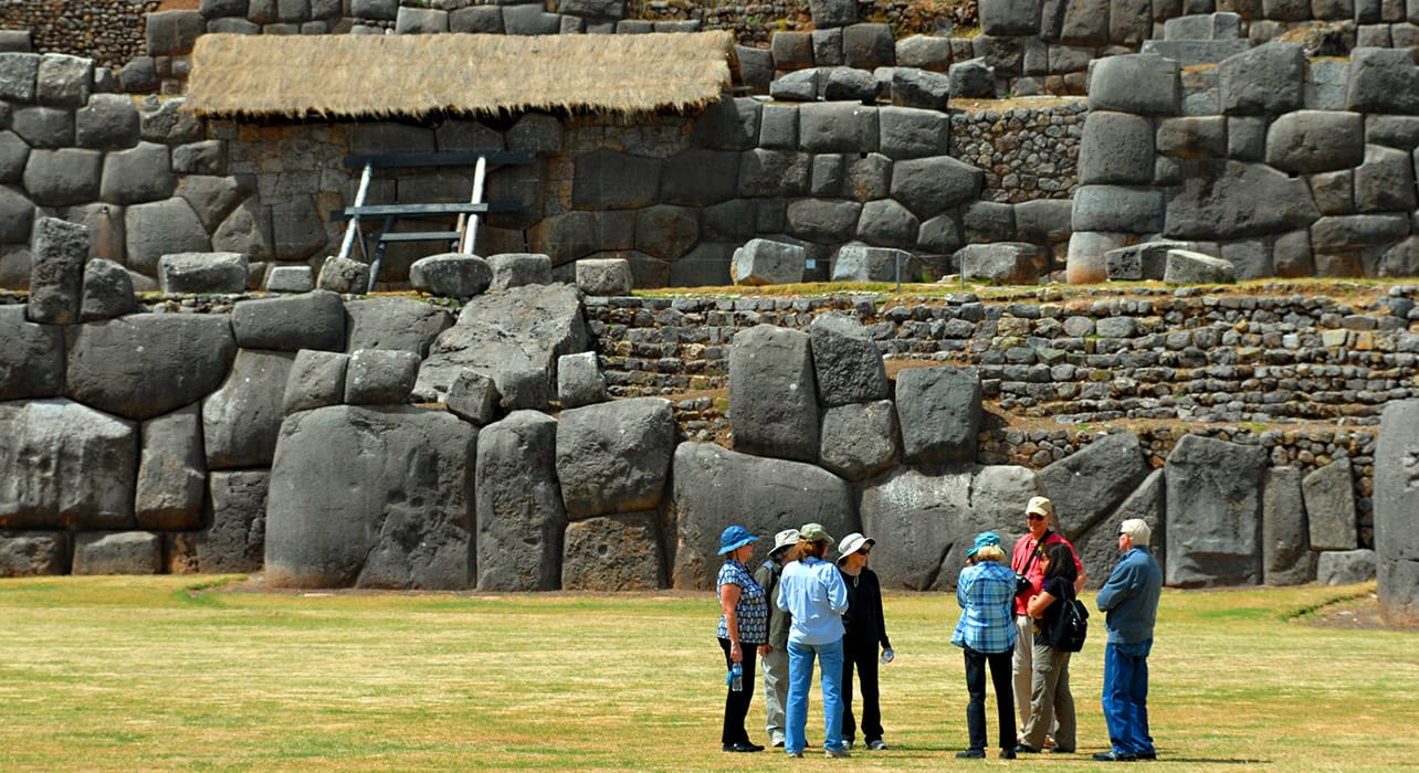 peru cusco saqsayhuaman group