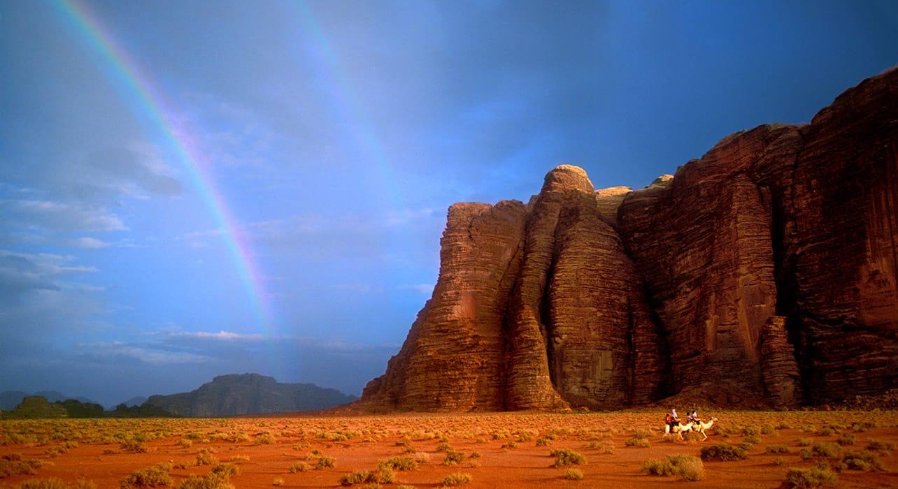 jordan wadi rum rainbow