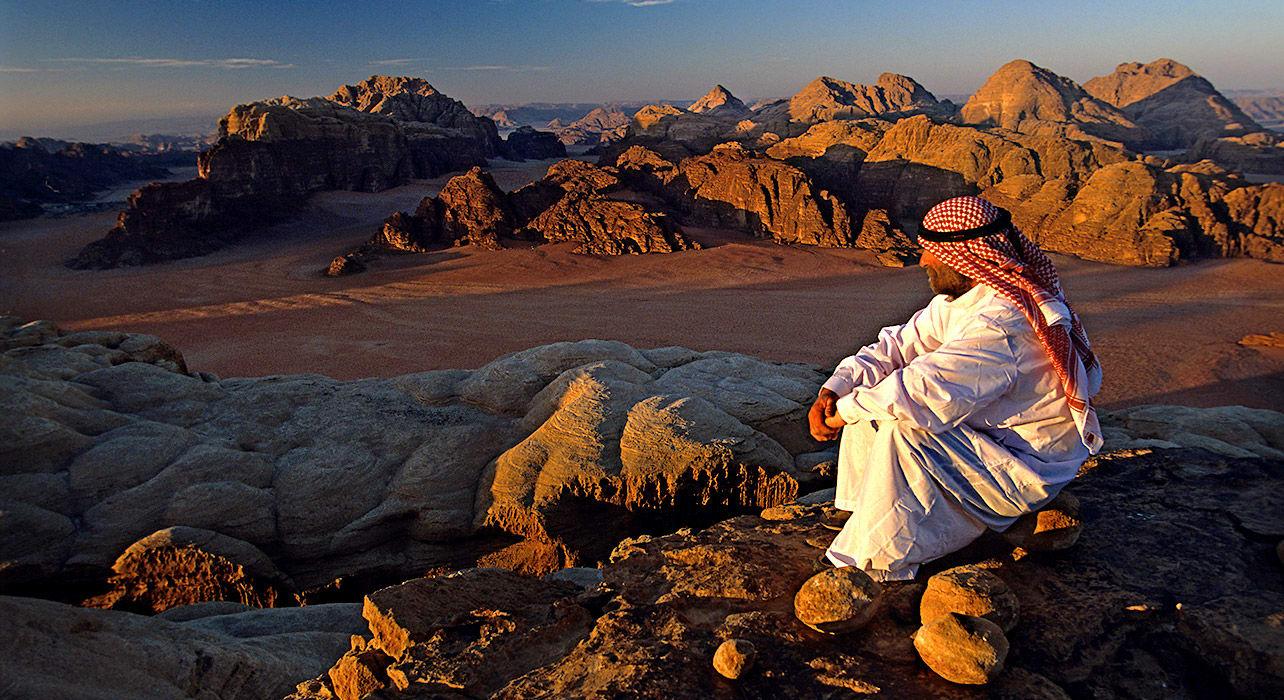 jordan wadi ram bedouin