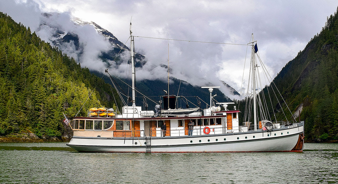 alaska research vessel small boat