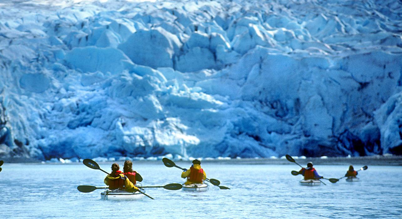 alaska sitka fun kayak glacier