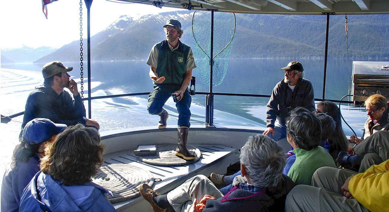 alaska crew boat guests