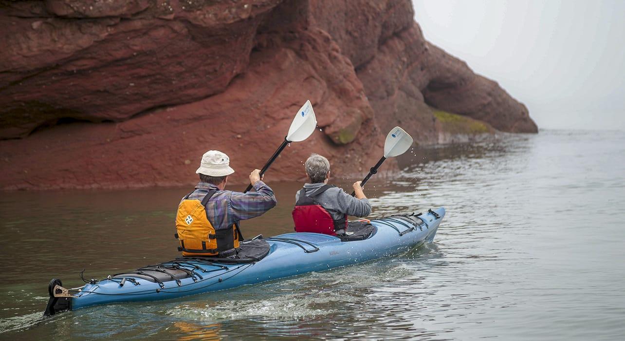 bay fundy new brunswick kayakers