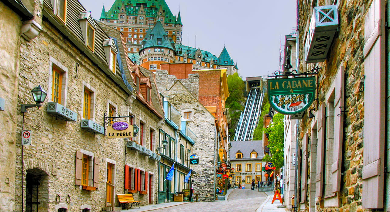 quebec city old town