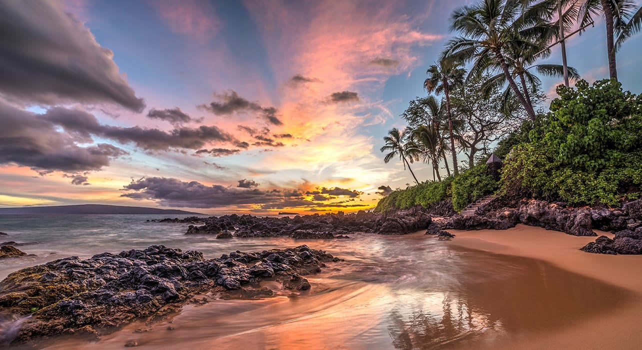 hawaii maui sunset