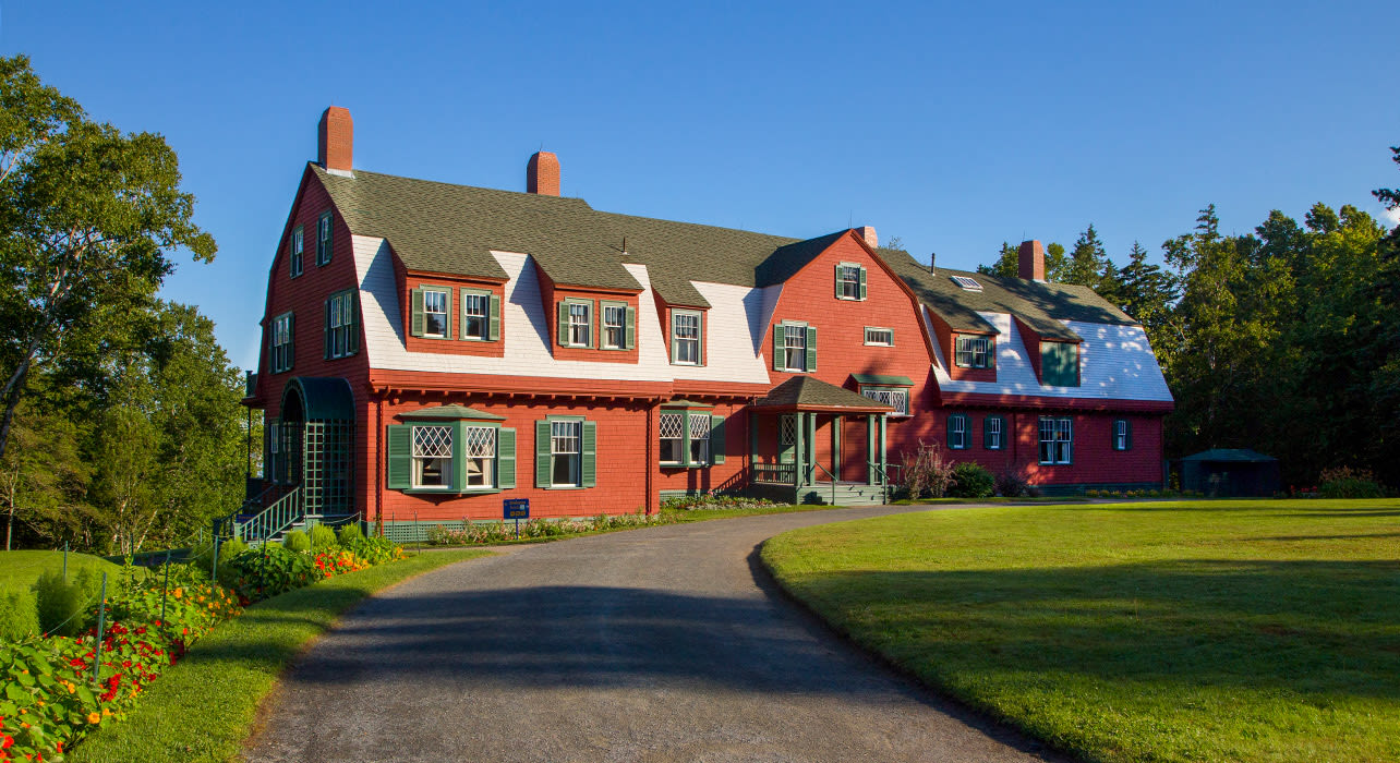 canada new brunswick campobello island franklin cottage