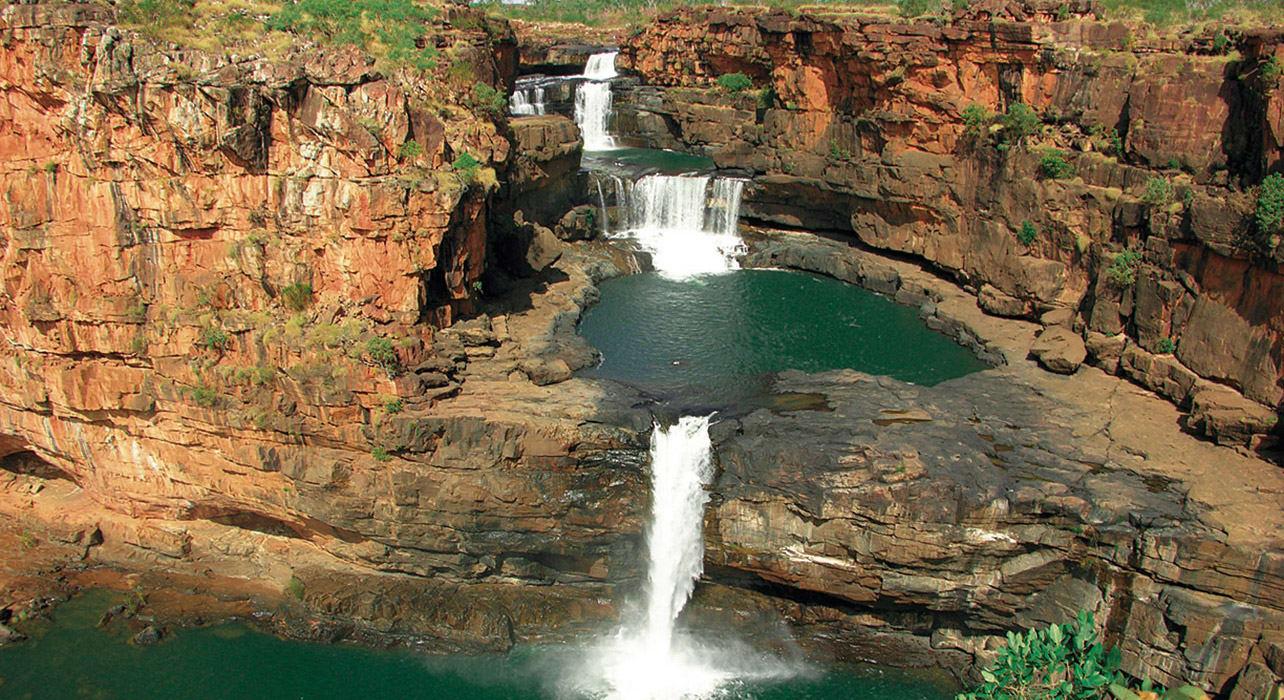 australia kimberley waterfall
