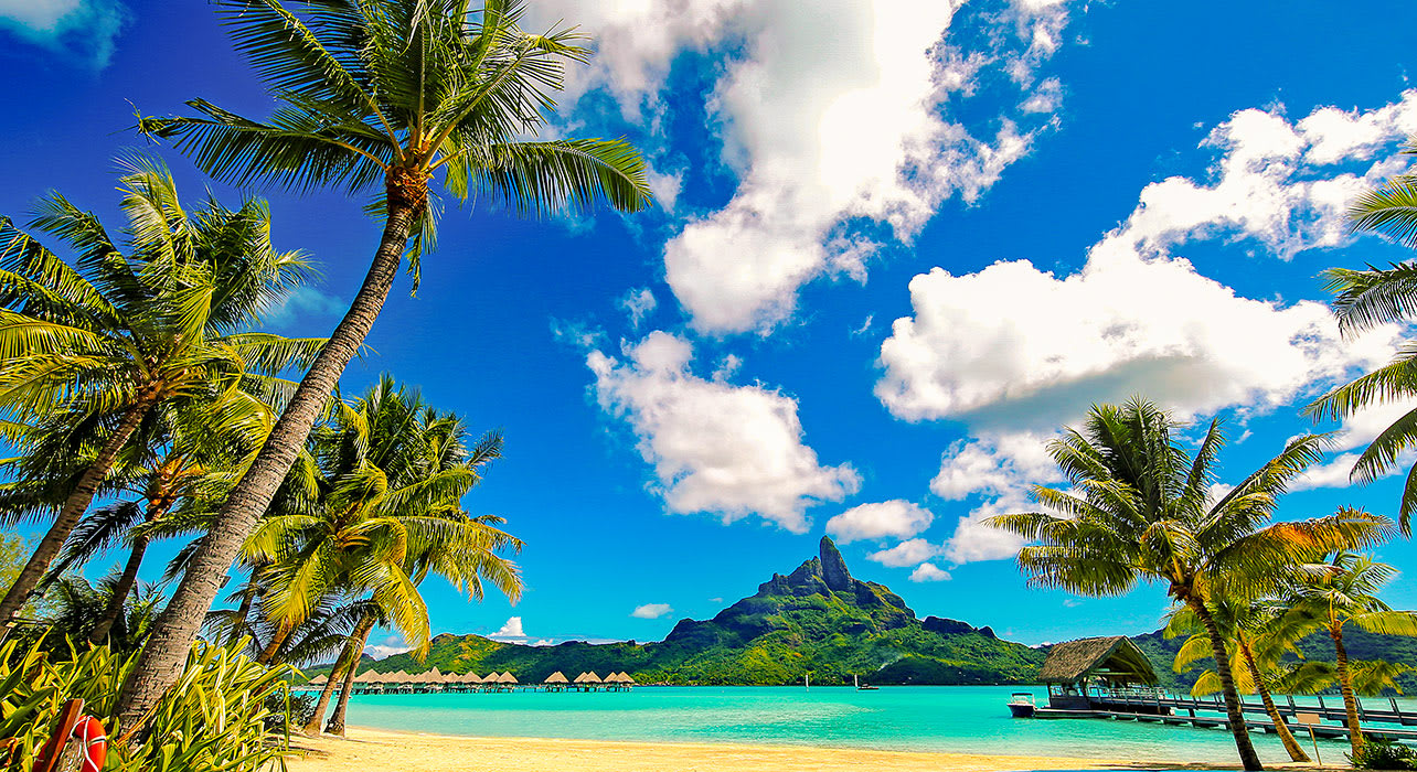 polynesia society islands bora bora beach