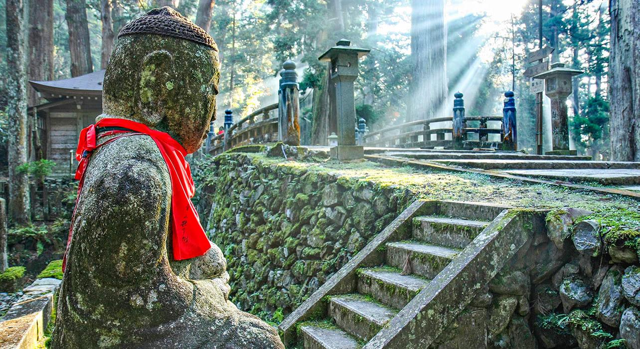 japan kyoto cemetery koya buddha