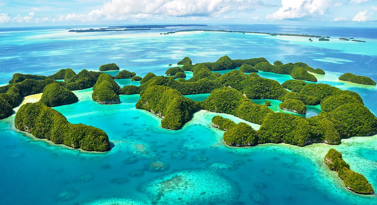 palau rock islands