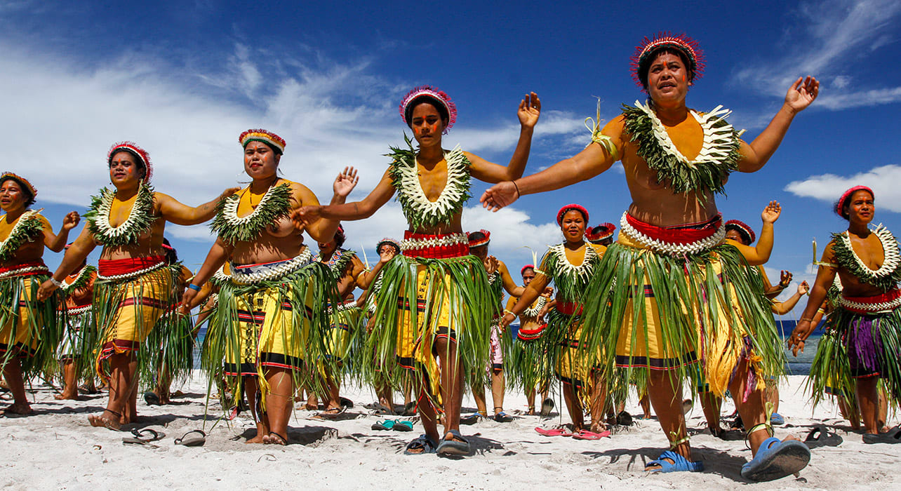 micronesia dancing beach
