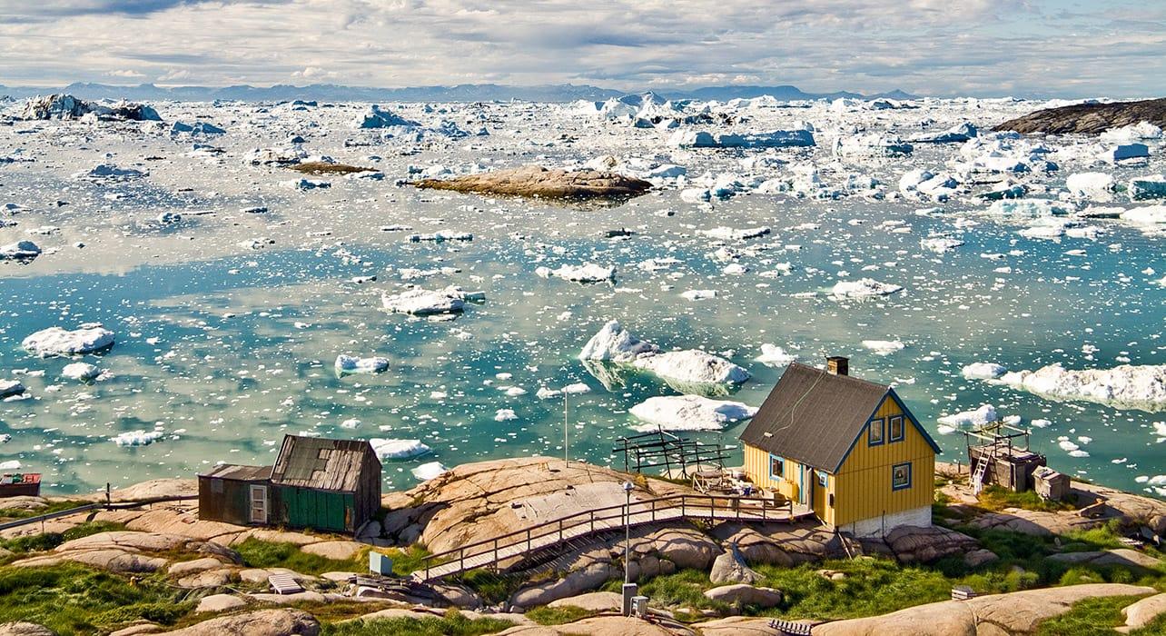 greenland disko bay icebergs