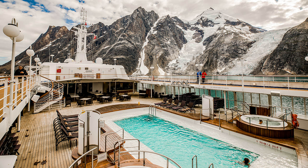 silversea norway svalbard greenland ship pool