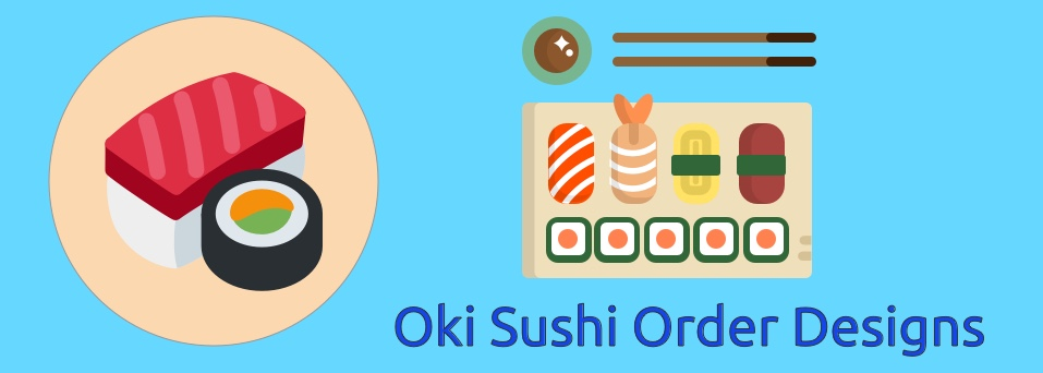 Sushi Ordering App a design project
