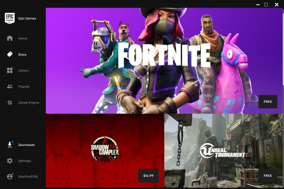 Epic Games Store launches