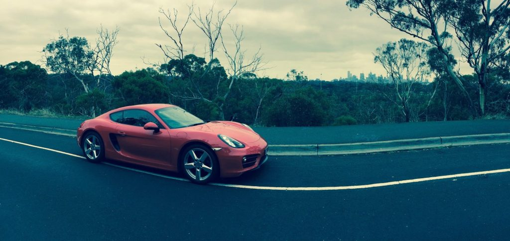 Hertz Melbourne Airport Porsche Cayman Review