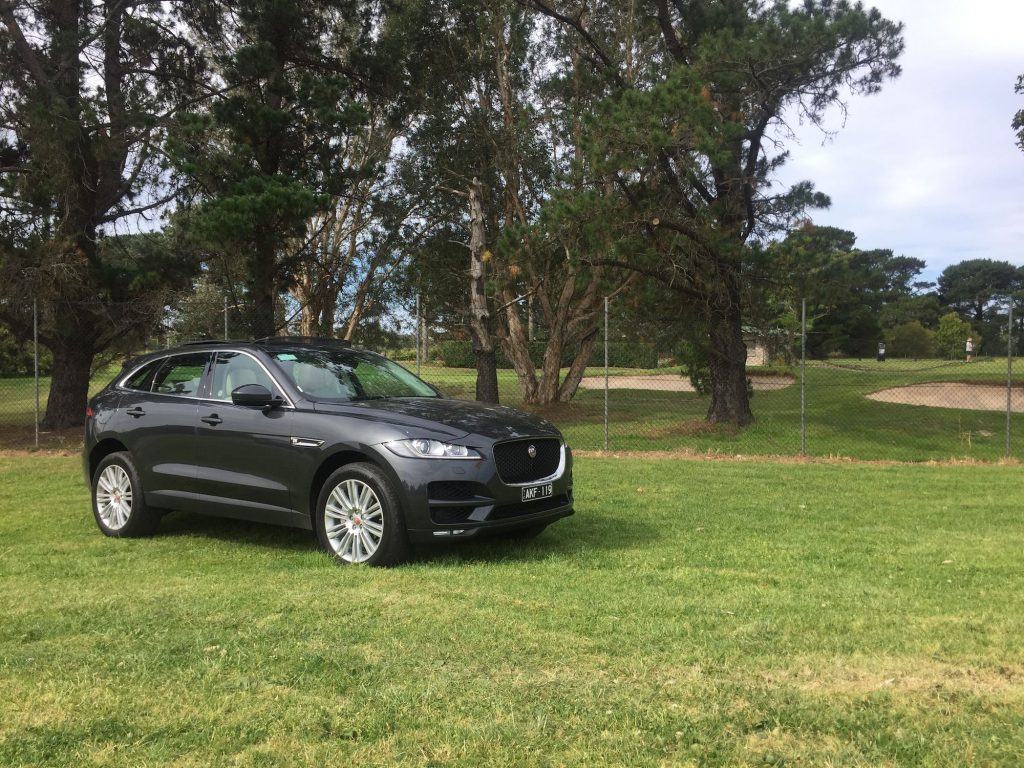 Europcar Launches The New Jaguar F Pace Suv The First Review Of