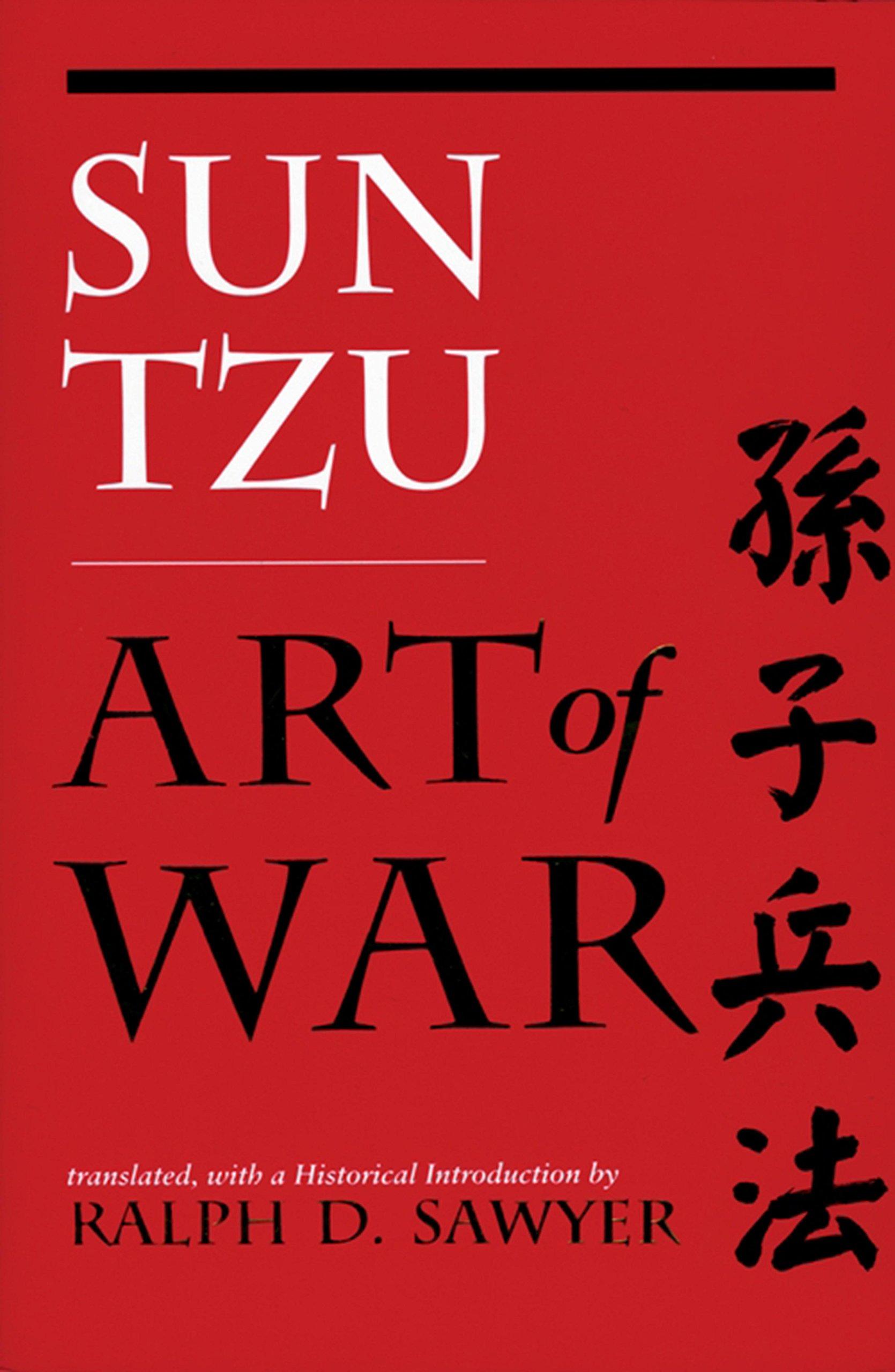 sun tzu the art of war book cover