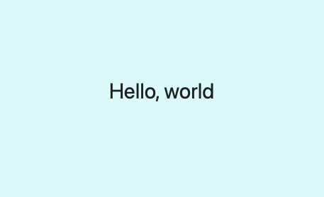 flutter hover effects hello world.