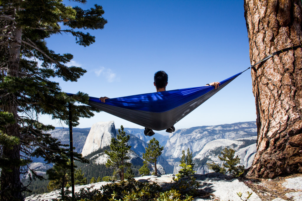 best national park to hammock - yosemite