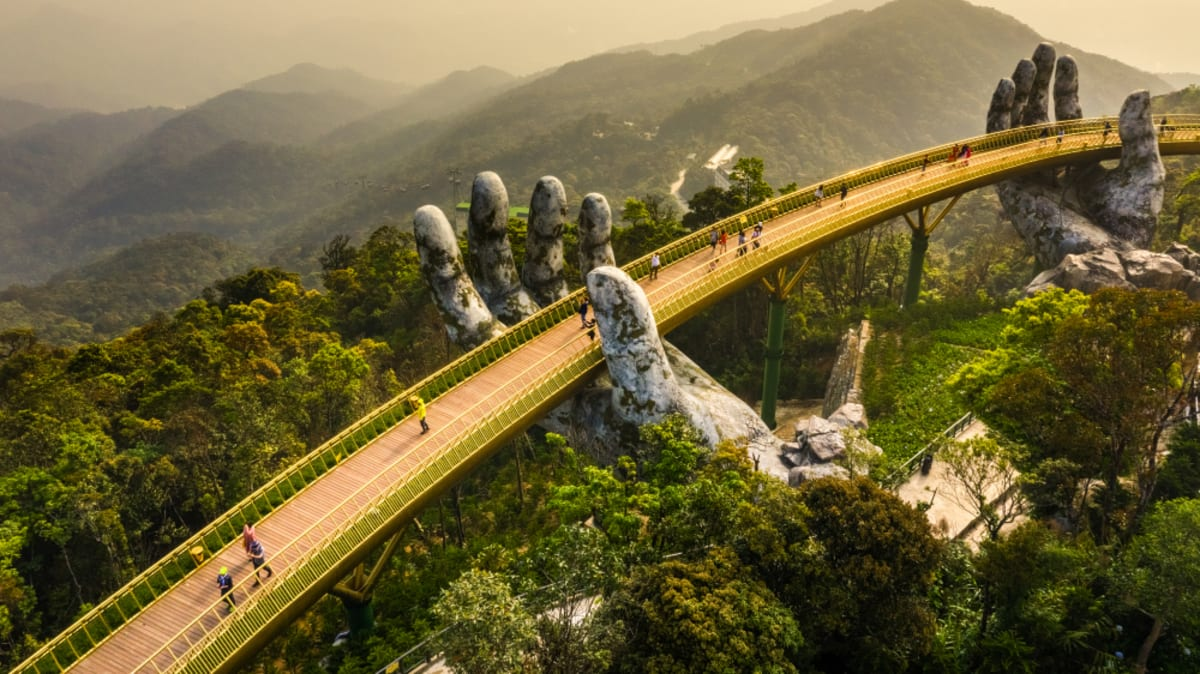 Lawatan Da Nang x Sun World Bana Hills x Hoi An Ancient Town Tour Bersama Tripfez