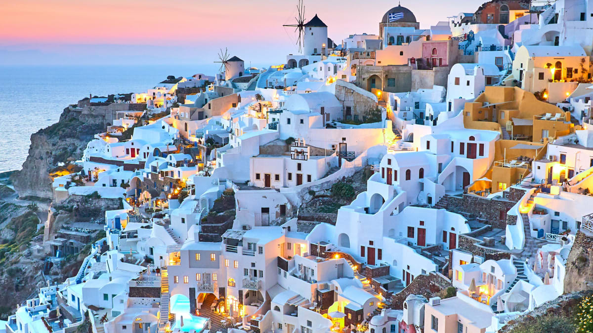 Bulan Madu Athens, Santorini, Mykonos Bersama Tripfez