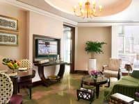 Hotel suite area