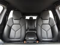 Leather seat interior