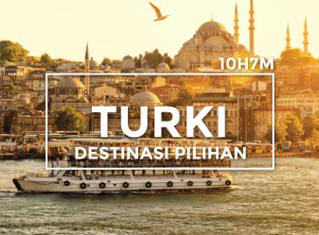 Pakej 10H7M Turki