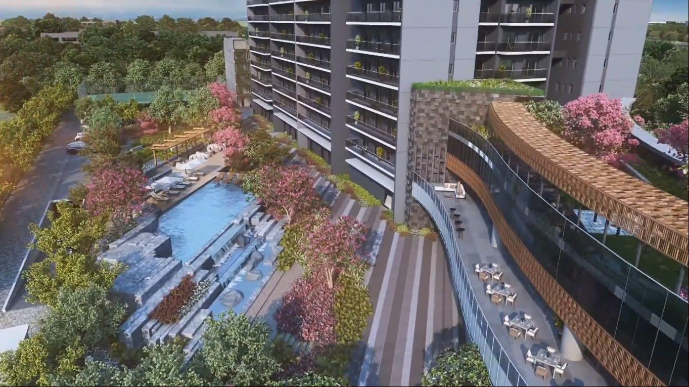 Krisumi Waterfall Residences Sector 36A Gurgaon