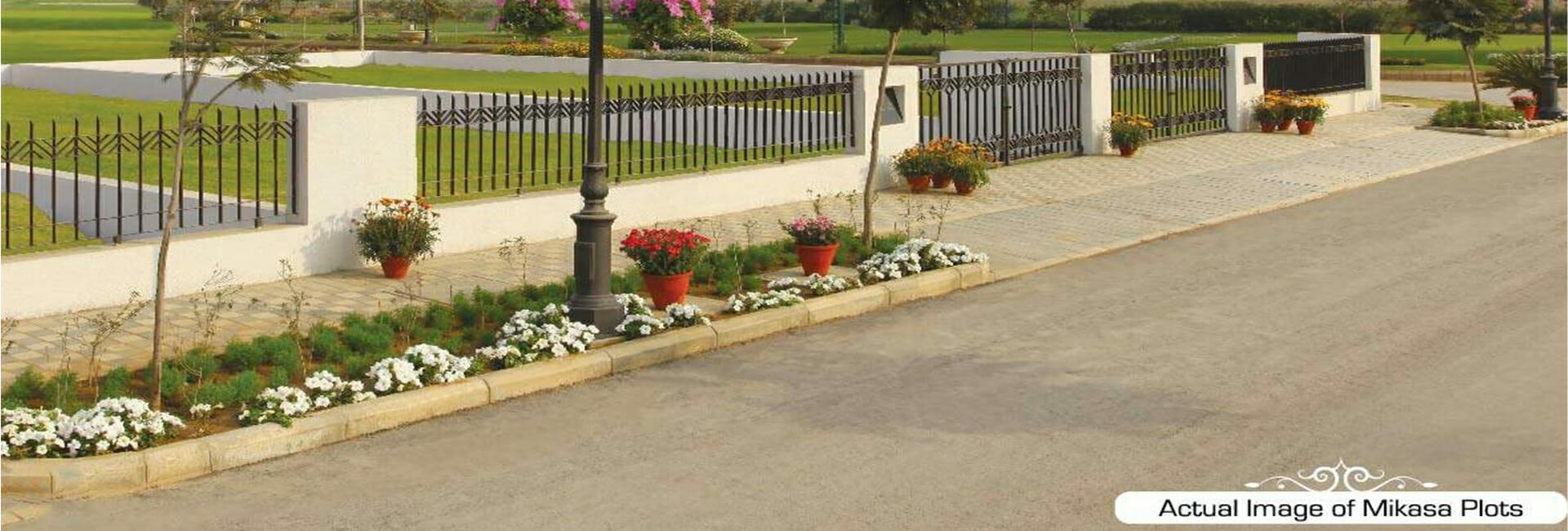 Central Park Flower Valley Mikasa Plots