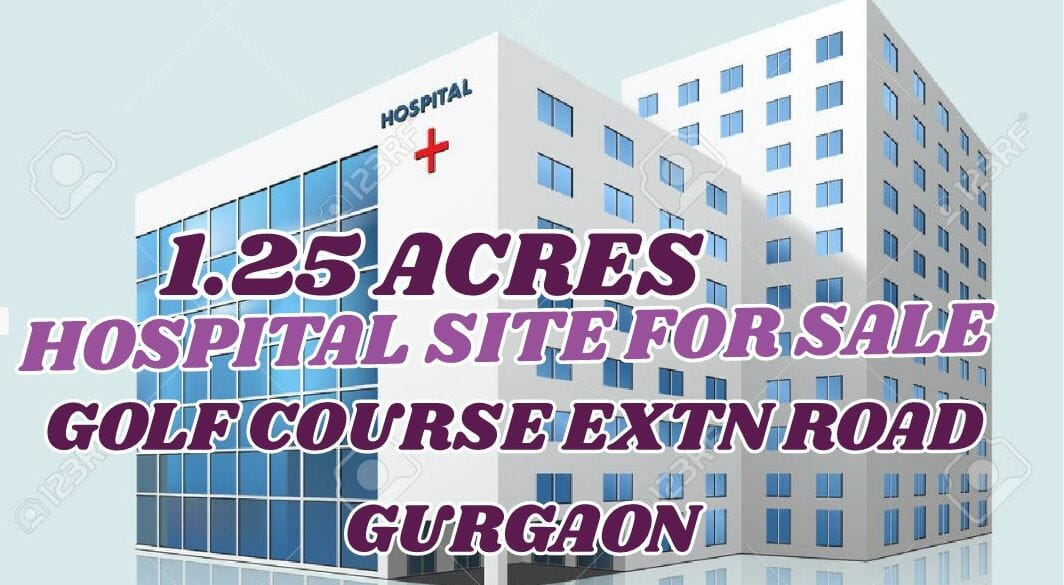 HOSPITAL SITE FOR SALE