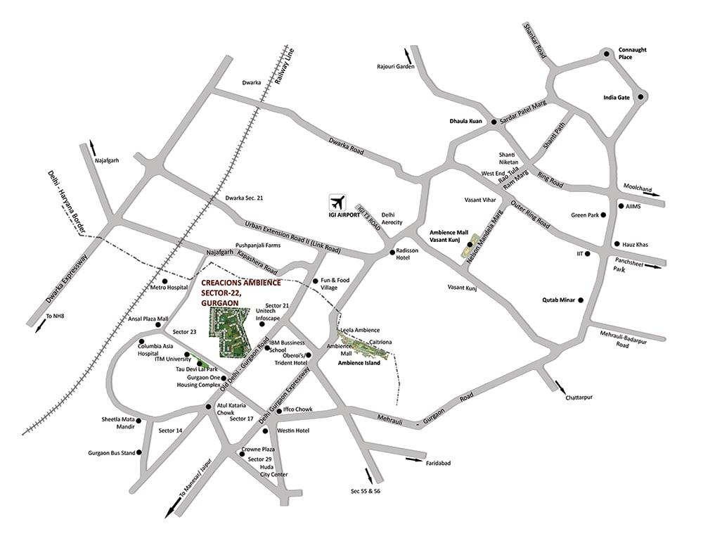 locationmap AMBIENCE CRACIONS