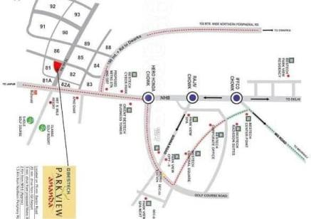 ananda villa location map