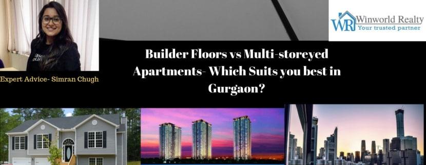 builder floor vs apartment