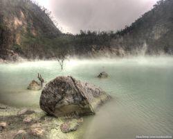 Бандунг и путь на Kawah Putih – Белый кратер