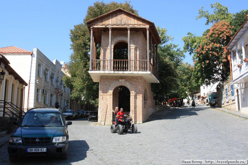 Площадь города Сиогнахи