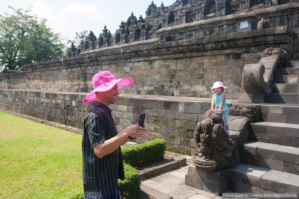 Индонезийцы, как всегда, позитивны и непосредственны