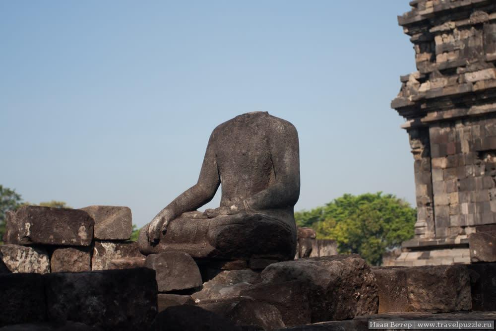 От древних статуй нередко остаются только фрагменты.