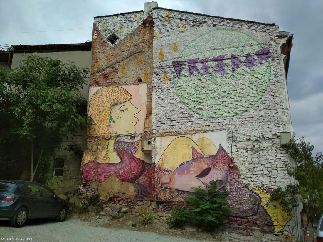 Муралы в Тырново